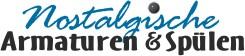 Nostalgische Armaturen und Spülen für Landhausküchen und Landhausbäder. Armaturen und Zubehör-Logo